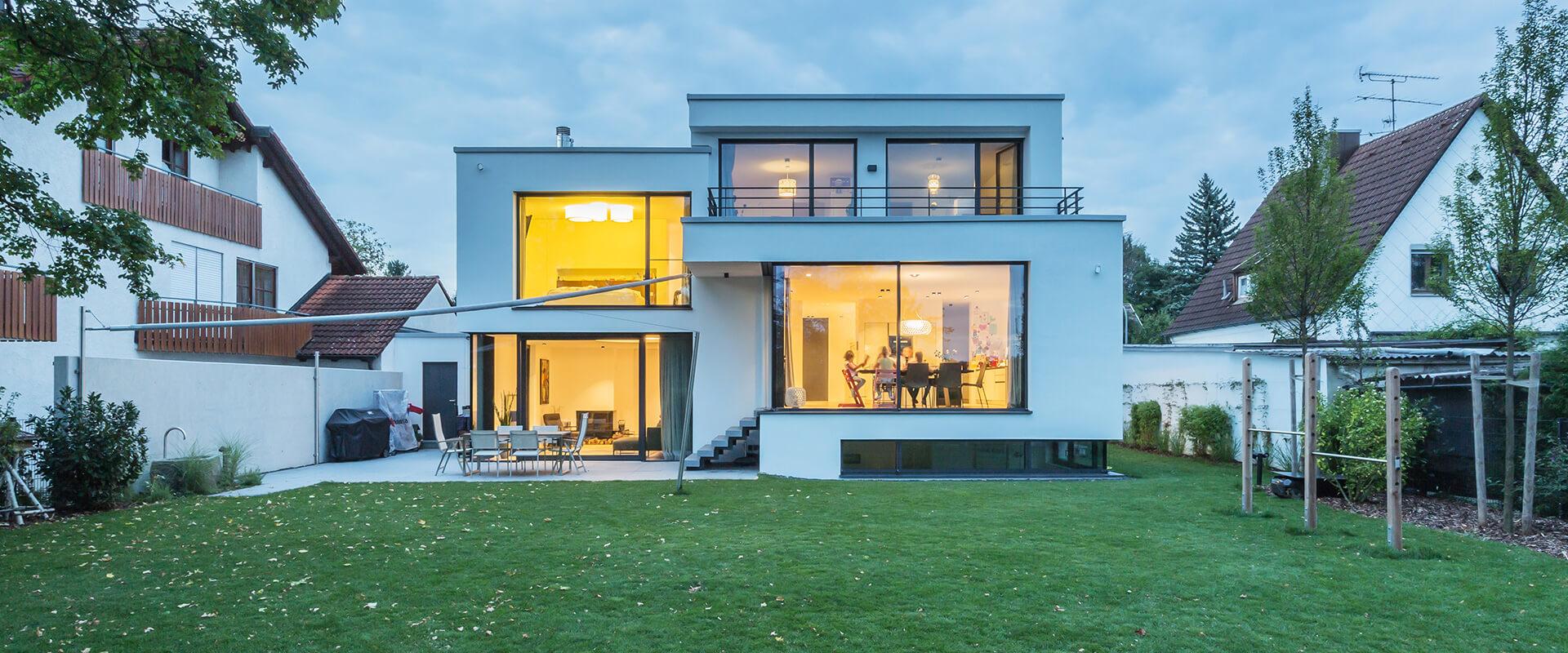 Architekt München Ost | Einfamilienhaus Trudering - Haus H - Gallist ...