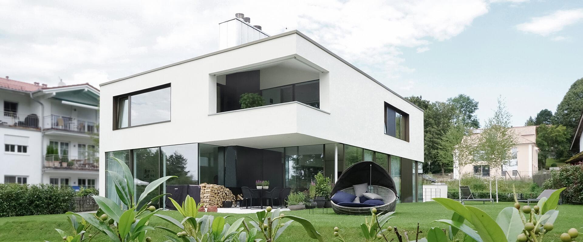 Architekt Starnberger See | Einfamilienhaus Starnberg - Haus A ...
